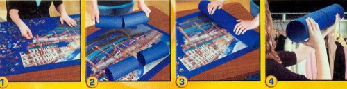 Tapis pour jigsaw puzzles et casse-têtes