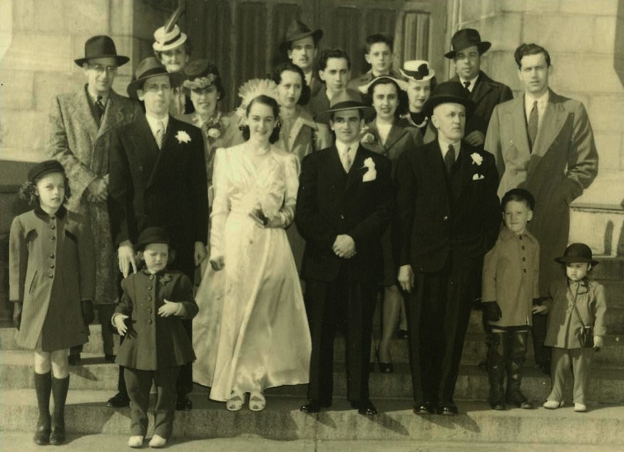 Photo-Mariage-Mom-Dad-10-mai-1947