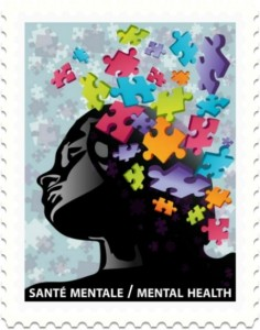 Timbre Poste Sante Mentale Casse Tete 2011 Canada Postes