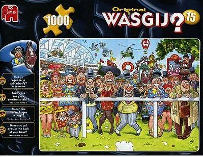 Puzzle Wasgij 1000 - Courir plus vite que le vent ! Casse-Tête
